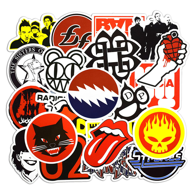Sticker Luggage Skateboard Car Styling Vinyl Deacals Motorcycle Laptop Cool