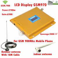 Cable de 10 m + antena, repetidor/amplificador/receptores GSM 970, amplificador/repetidor de señal móvil 900 Mhz