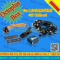 Octoplus box set completo para samsung para lg + medusa jtag activación (paquete with25pcs cable set) añadido para samsung n900a & n900t