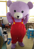 [TOP SALE]Teddy Bear Mascot Costume Suits Cosplay Party Game Dress Outfits Clothing Advertising Carnival Halloween Christmas