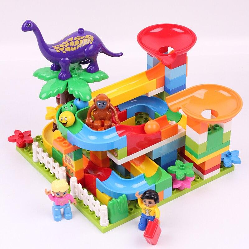 Hot Sale DIY Big Size Building Blocks Track/Forest /Animal Educational Bricks Compatible