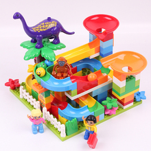 Hot Sale DIY Big Size Building Blocks Track/Forest /Animal Educational Bricks Compatible