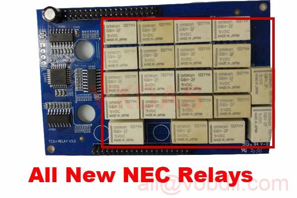new nec relays