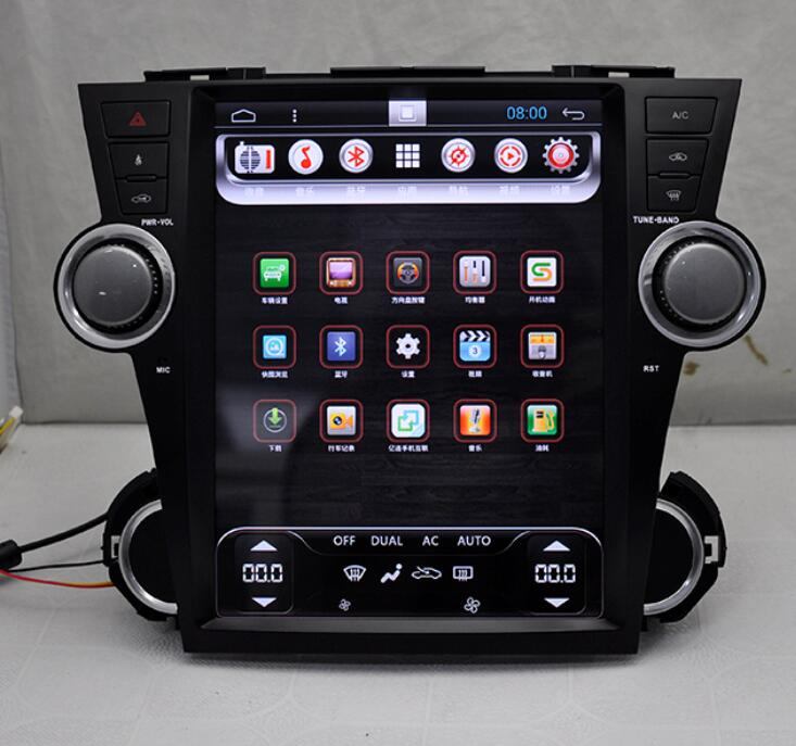 2012 Toyota Highlander Limited: 12.1 Inch Android 4.44 Car PC Car DVD Player For TOYOTA