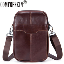 COMFORSKIN Bolsa Masculina New Arrivals Genuine Leather Vintage Style Men Messenger Bags 2018 High Quality