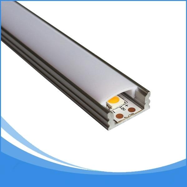 20PCS 2m hosszúságú vezetékes csík könnyű alumínium - LED Világítás