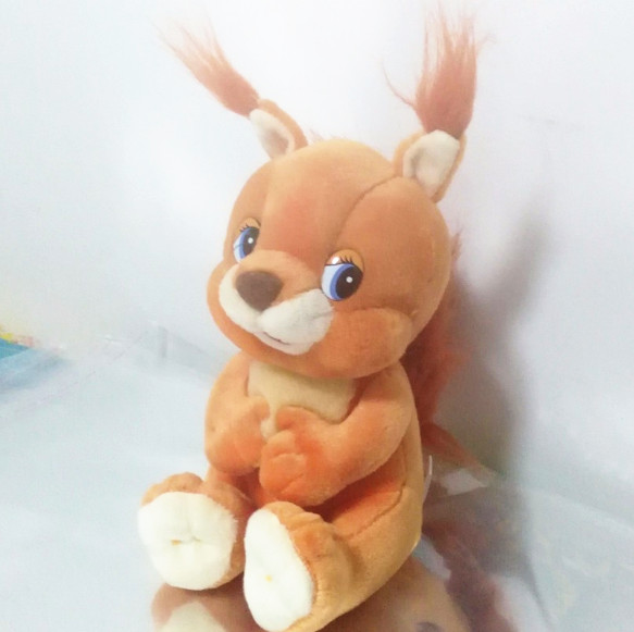 Russian language singing song Squirrel doll,electronic toys for girl,Intellectual development, russian toy russian phrase book