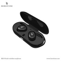 BOROFONE BE8 True Wireless Bluetooth V4 1 CSR Earbuds Dual Wireless With Charging Case Mic Compatibe