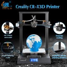 Creality CR-X 3D принтер с двойным цветом и 1 из полусобранного легкого использования DIY 3d принтер