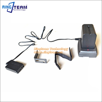 Mobile DC Adapter NP F Battery Holder DR E12 Coupler LP E12 Replace ACK E12 For
