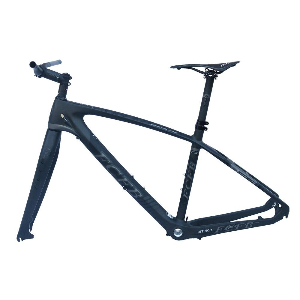2017 FCFB Mtb Bike Frame Carbon Mountain Carbon Frame 27.5er*15.5