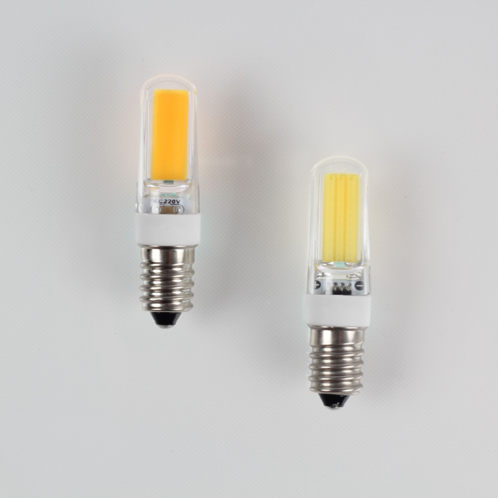 5PCS AC 220V Dimmable COB LED Light 3W 2609 COB G4 G9 E14 PC Lampshade,LED Bulb Replace Halogen Crystal Spotlight Chandelier