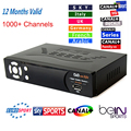 BEST HD 4U up to IP-S2 Plus DVB-S2 satellite receiver IP-S2+with free IPTV 1000+channels for Arabic/Europe/America/Africa/Indian