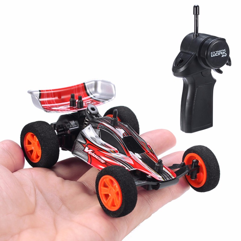 Velocis RC Car 1/32 Model Off-Road Vehicle Toy 2.4G Mutiplayer in Parallel 4CH Operate USB Charging Edition Bigfoot Formula Car(China)
