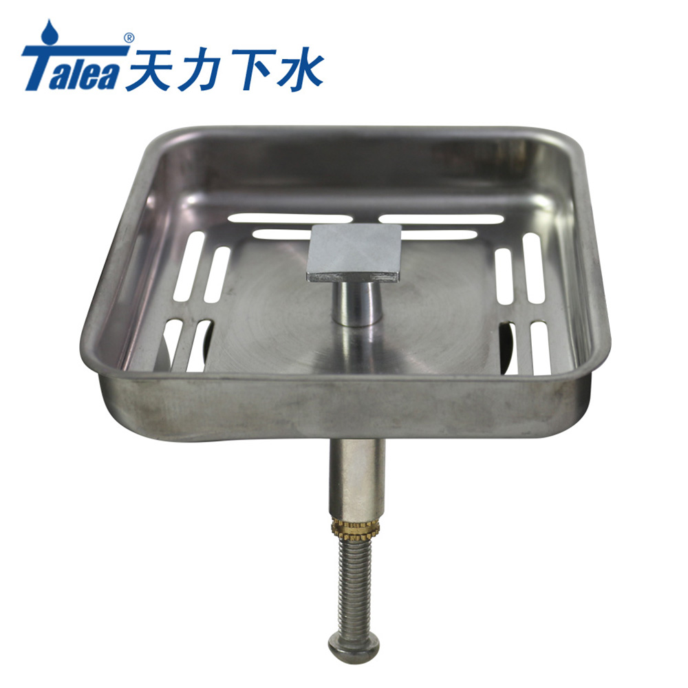 Aliexpress.com : Buy Talea Stainless steel Square Sink strainer Plug ...