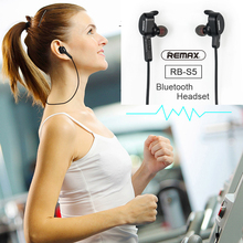 Remax Bluetooth Earphone/Headset Sport Wireless Headphone For iPhone Xs max XR X 8 7 6 8s 7s 6s plus 5 5s SE Magnetic Headset цена и фото