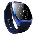 M26 com LED de luxo Smartwatch inteligente Bluetooth Music Player pedômetro para IOS Android celular Samsung