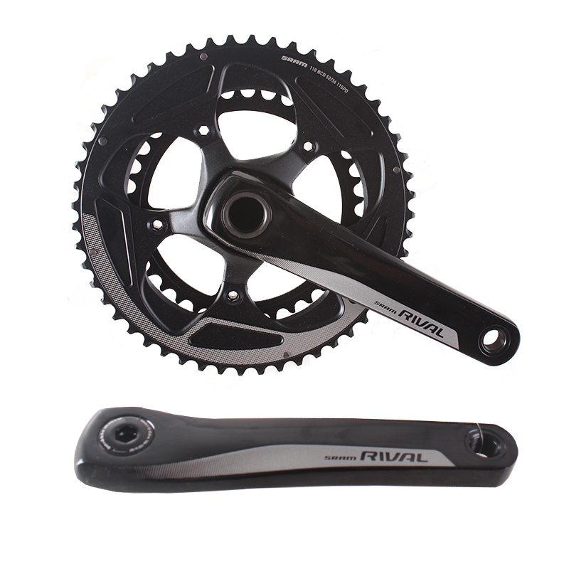 SRAM RIVAL 2x11S 50x34T 52x36T 170mm 172.5mm Road Bike Crankset Bicycle Chain Wheel GXP 24mm west biking bike chain wheel 39 53t bicycle crank 170 175mm fit speed 9 mtb road bike cycling bicycle crank