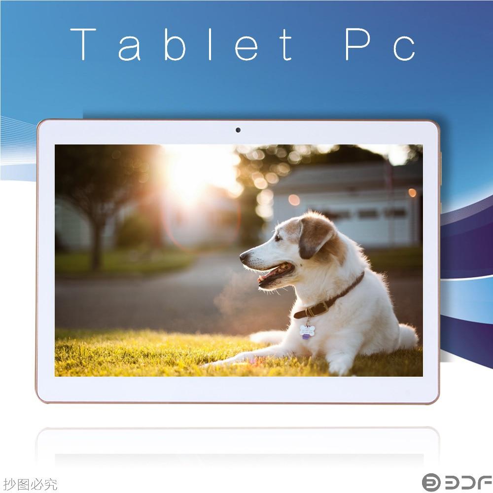 2018 New BDF 10 Inch Android 7.0 Tablet Pc 4GB+32GB 3G Phone Call SIM Card Quad Core CE Brand WiFi FM Pc Tablets 7 8 9 10 10.1