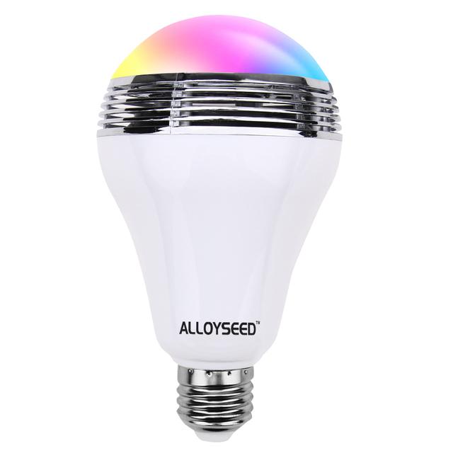 Universal LEVOU Luz Lâmpada E27 Bluetooth Speaker Multicoloridos Ajustáveis Color Changing LED Luz para Decoração Festa de Natal Luz