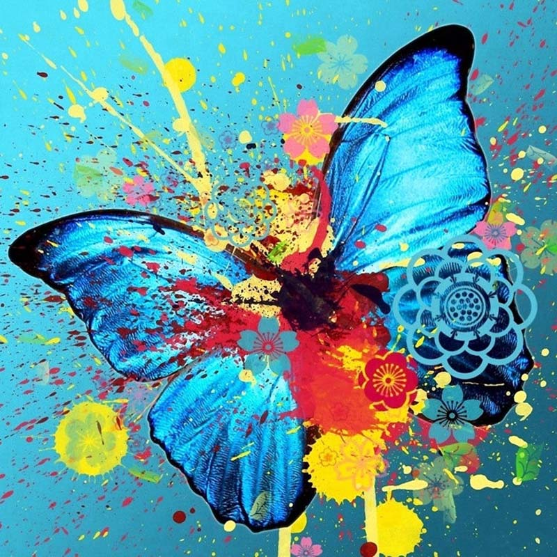 Butterfly-flowers-nimal-new-arrival-DIY-Crystal-full-drill-square-5D-diamond-painting-cross-stitch-kit (1)
