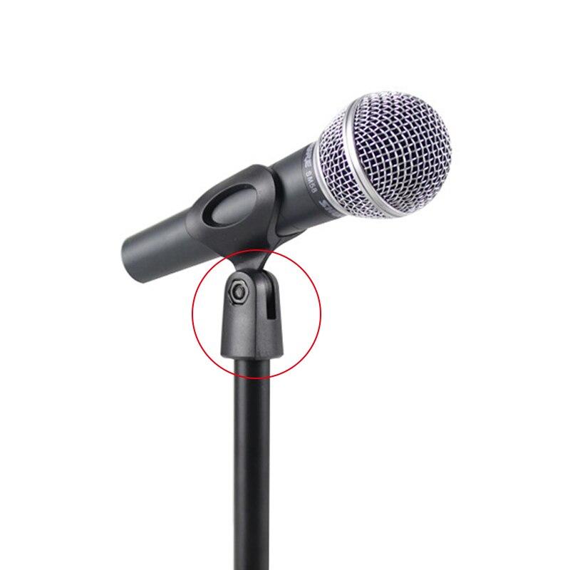 Haben Sie Einen Fragenden Verstand Mini Tragbare Tisch Mikrofon Mic Stand Halterung Desktop Runde Basis Halter Sd998 Unterhaltungselektronik