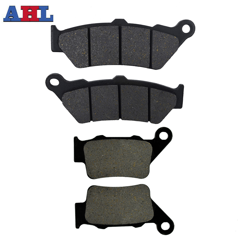 Motorcycle <font><b>Parts</b></font> Front Rear Brake Pads Kit for <font><b>Yamaha</b></font> XT660R 2004-2010 For APRILIA Pegaso 650 Trial ie image