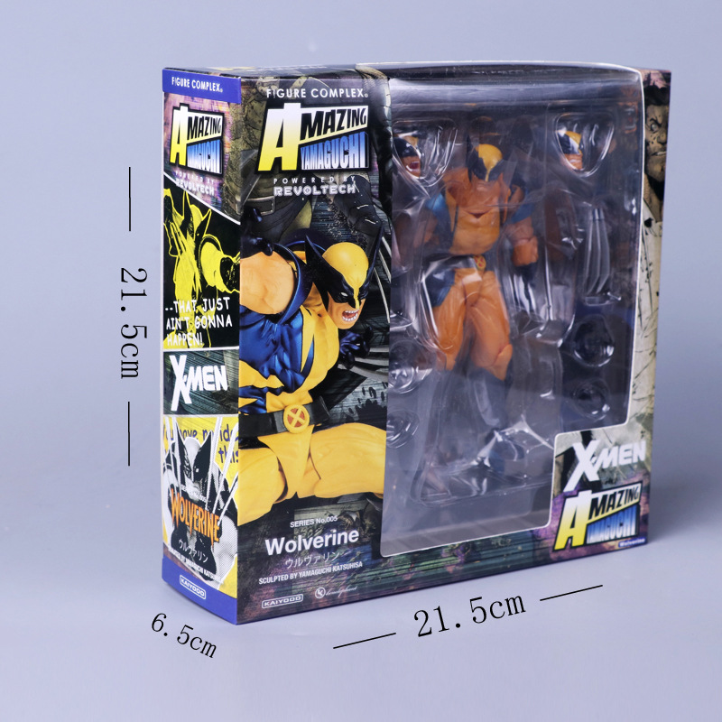 Wolverine Action Figure with Variable Parts 13