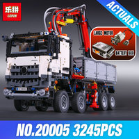 20005 2793pcs NEW LEPIN Technic Series 42023 Arocs Model Building Block Bricks Compatible With LEGOe Boys