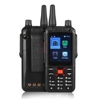 SOCOTRAN F22+ Dual sim card two way radio walkie talkie wcdma gsm 2G/3G android wifi network radio smart phone