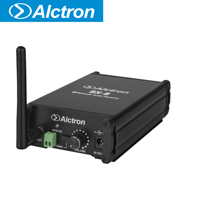Alctron BX-8 professionale bluetooth audio ricevitore wirhn audio di uscitaAlctron BX-8 professionale bluetooth audio ricevitore wirhn audio di uscita