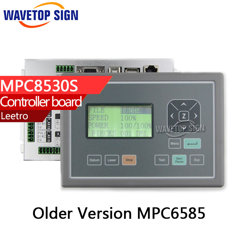 latest version Leetro mpc8530S  Laser Controller DSP Motion Control System Board Motherboard replace older version MPC6585 2017 latest co2 laser controller system rdc 6442g rd ruida motion control upgrade rd320
