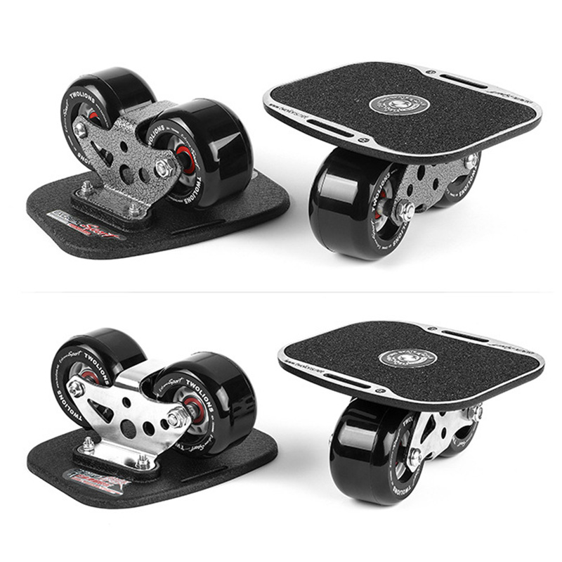 Twolions Drift Board For Freeline Roller Road High-end Wheels Drift Skates Antislip Skateboard Deck Freeline Skates Wakeboard