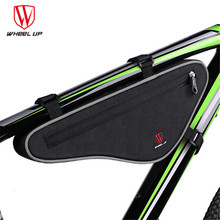 WHEEL UP 2017 Large Capacity Nylon Reflective MTB Road Bike Front Bag Bike Panniers Triangle Cycling Bicycle Bags Accessories