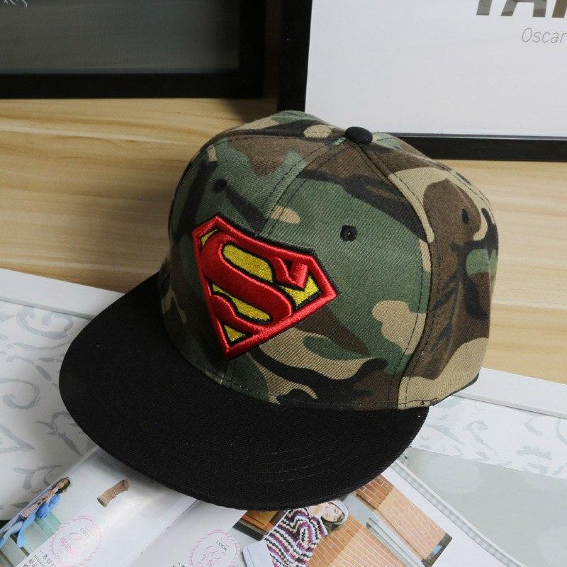 2018 nueva moda Superman Snap Snapback Gorras sombrero Super hombre  ajustable Gorras Hip Hop Casual gorra de béisbol sombreros para las mujeres  de los ... 770f4e66b81