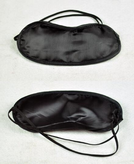 Eye Mask Black Sleeping Eyeshade Eyepatch Blindfold Shade Travel Sleep Aid Cover Light Guide jk17