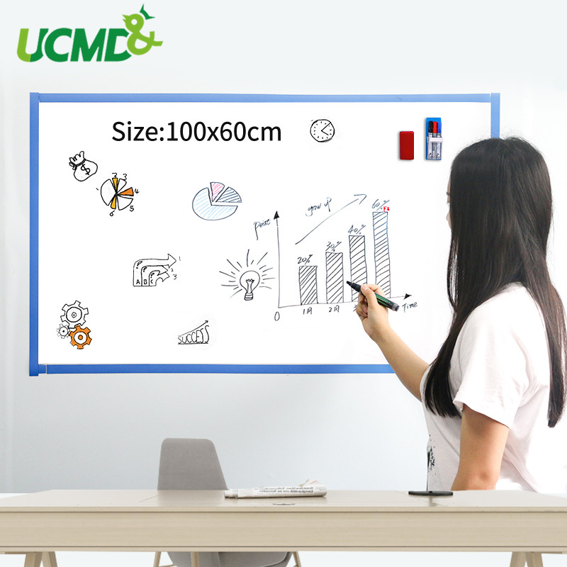 Office School Writing Learning Note White Board Children Graffiti Drawing Toy Gift Kids Room Decor Whiteboard Stickers For Wall