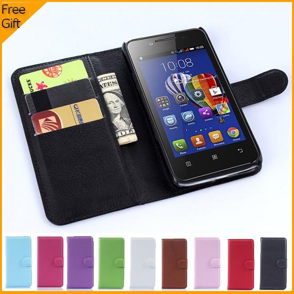 Portofel de lux PU din piele flip Cover pentru telefon Lenovo RocStar - Accesorii și piese pentru telefoane mobile