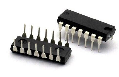 10 PCS HEF4066BP DIP-14 HEF4066 4066 CD4066 NEW