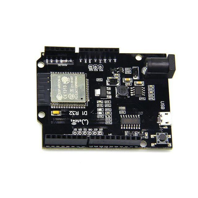 TTgo ESP32 Rev1 WiFi & Bluetooth 4MB Flash UNO D1 R32