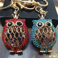 Y59 owls coruja keychains keys 2014 chaveiros femininos llaveros mujer porta chaves porte clef trinkets portachiavi for women