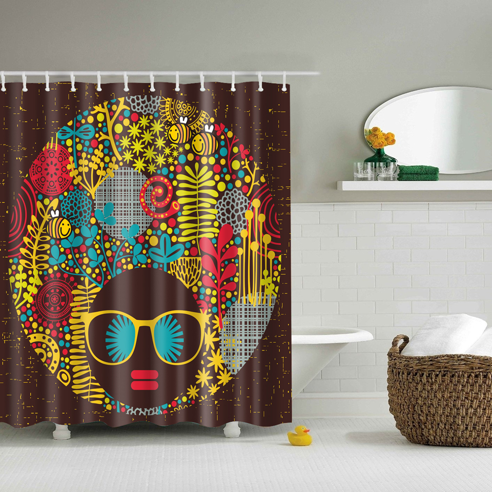 african shower curtain promotion-shop for promotional african