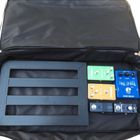 Guitar Pedal Board Setup Big Style DIY Guitar Pedalboard 60 33 10cm Portable Effects Pedal Board