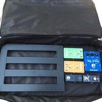 Guitar Pedal Board Setup Big Style DIY Guitar Pedalboard 60 33 10cm Portable Effects Pedal Board