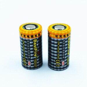 Image 4 - 2 adet En Iyi Ateş 1500 mAh 18350 3.7 V Li ion şarj edilebilir pil 30A Elektronik Sigara için Vape Mech Mod E Boru B012 araçları B025