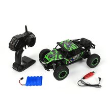 28cm RC Car 1/16 4WD 25km/h Driving Double Motors Drive Bigfoot Remote Control Model Off-Road Vehicle Toy