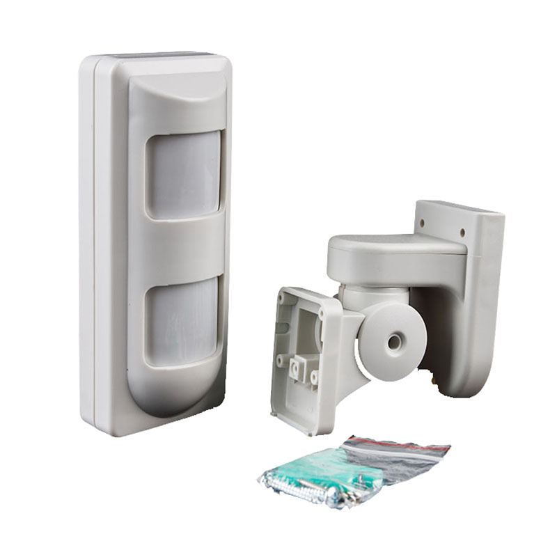 2pcs High Quality Outdoor IP65 Wired Dual PIR+MW Alarm PIR Sensor Anti-Masking,Wide Angle/Pet Immune/Curtain PIR Motion Detector