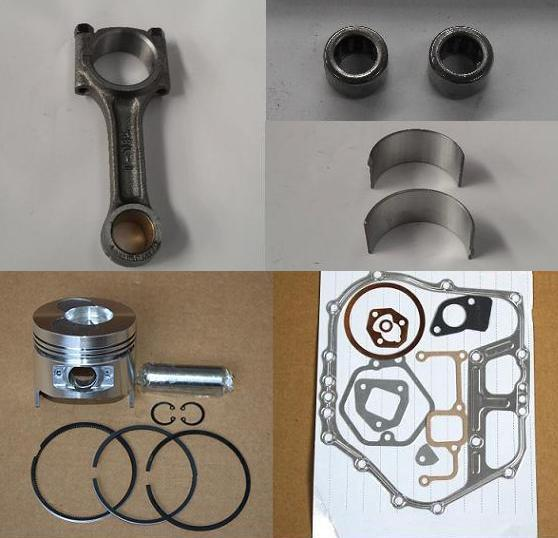 Fast Shipping Diesel engine 186F Piston pin ring gasket connecting rod bearing chinese brand suit for kipor kama