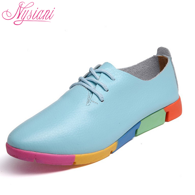 Comprar Zapatos Planos Con Cordones De Primavera 2018 Para