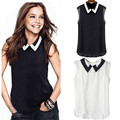 Women Summer Loose Casual Chiffon Sleeveless Vest Blouse Shirt Tops New